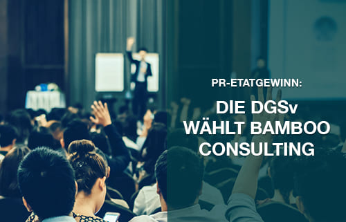 DGSv wählt Bamboo Consulting
