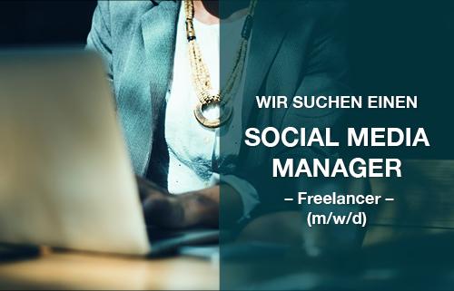 Wir suchen Social Media Manager